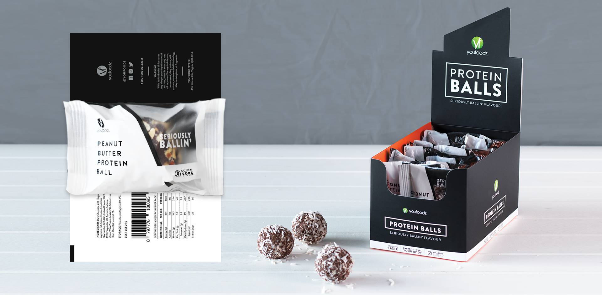 New Protein Balls Packaging Lachlan Spencer