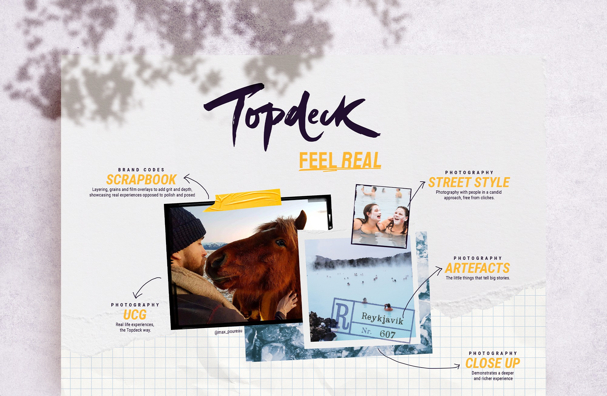 Freelance Topdeck Feel Real new brand reposition