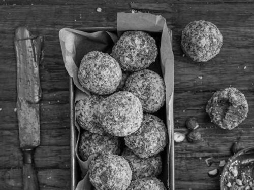 youfoodz protein balls food styling by Emma Costello